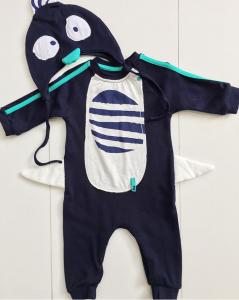 Dark Blue Erkek Bebek Tulum