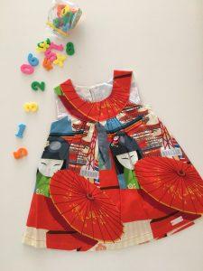 japon Desen Elbise