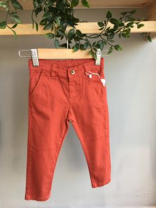 Kiremit Erkek Bebek Pantolon