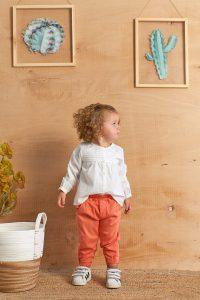 Lastikli Renklİ Bebek Pantolon