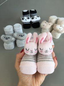 Çıngıraklı Bebek Çorap